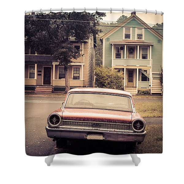 Hometown Usa Shower Curtain