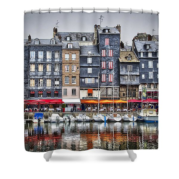 Honfleur Shower Curtain