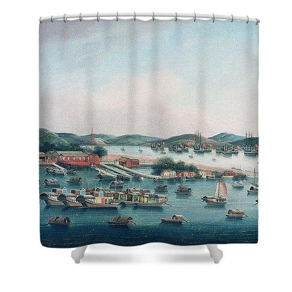 Hong Kong Harbor Shower Curtain
