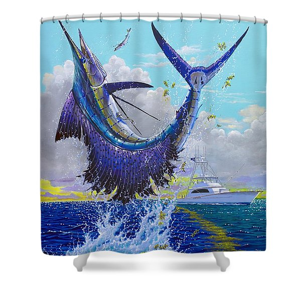 Hooked Up Off004 Shower Curtain