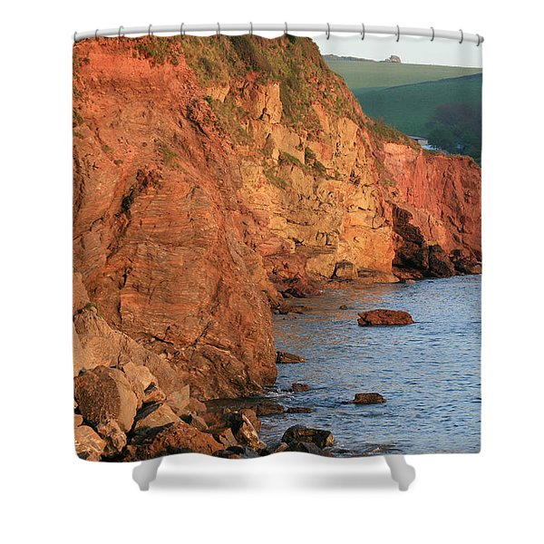 Hope Cove Shower Curtain