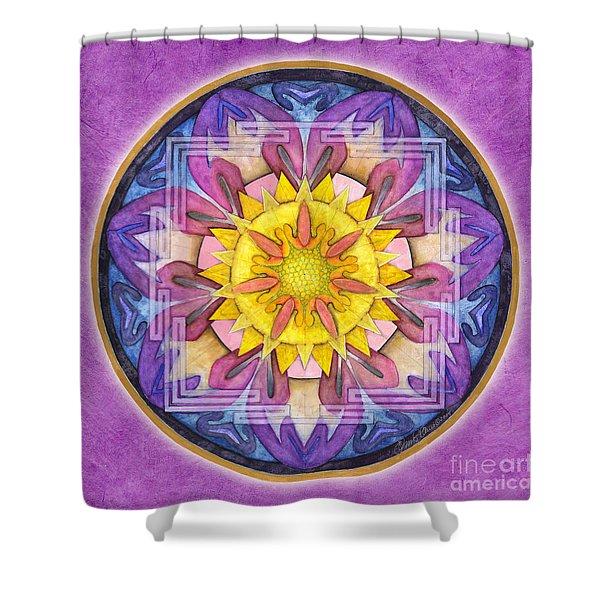 Hope Mandala Shower Curtain