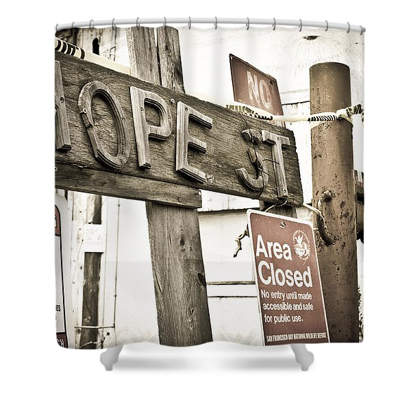 Hope Street Shower Curtain