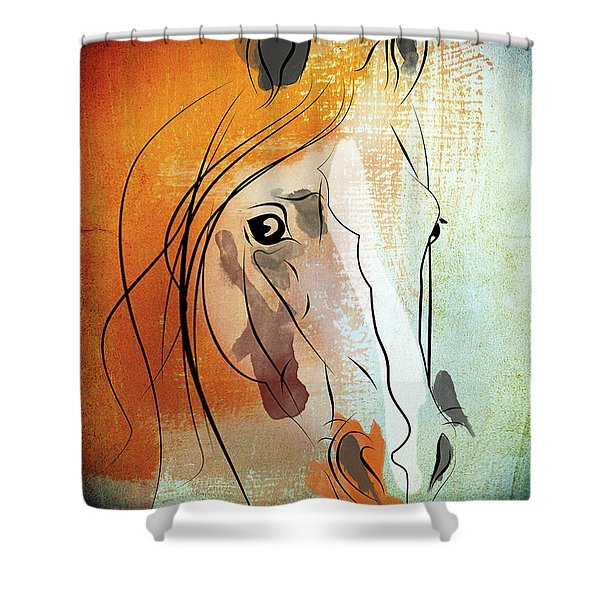 Horse 3 Shower Curtain