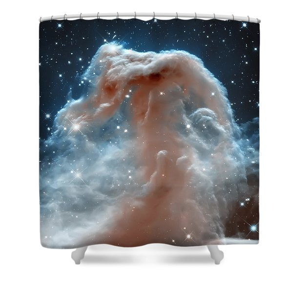 Horse Head Nebula Shower Curtain
