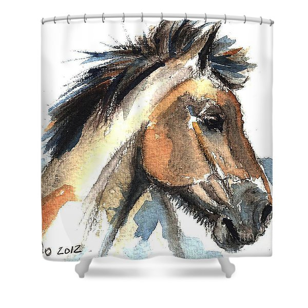Horse-jeremy Shower Curtain