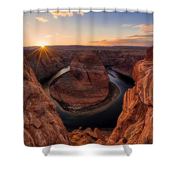 Horseshoe Bend Shower Curtain