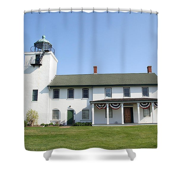 Horton's Point  Shower Curtain