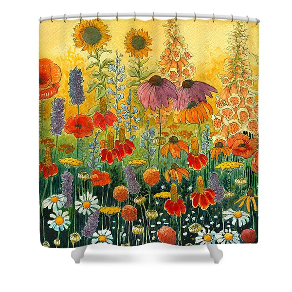 Hot And Hazy Shower Curtain
