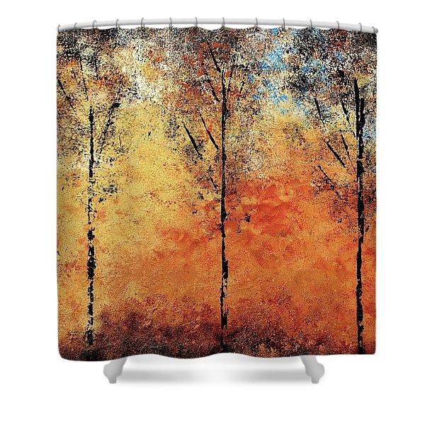 Hot Hillside Shower Curtain