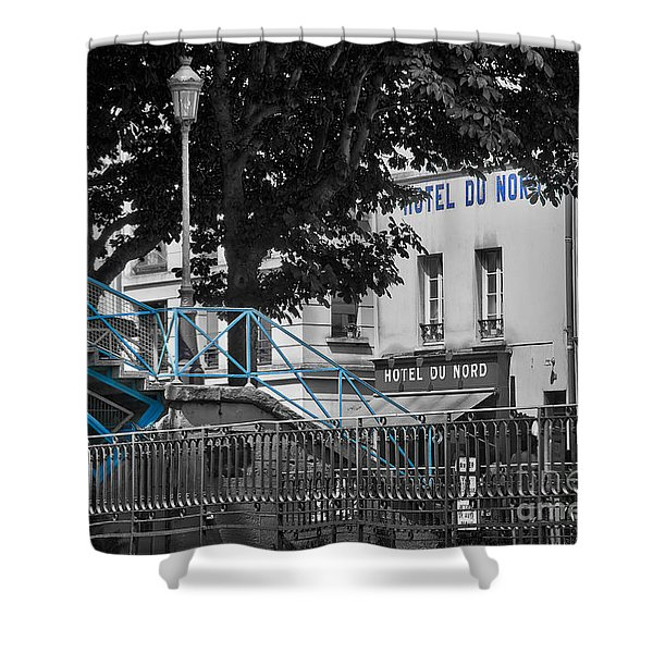 Hotel Du Nord Shower Curtain