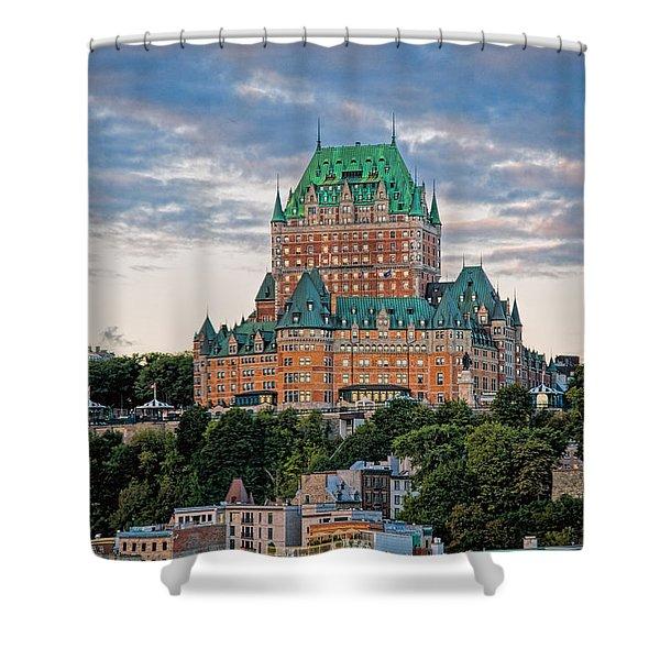 Fairmont Le Chateau Frontenac  Shower Curtain