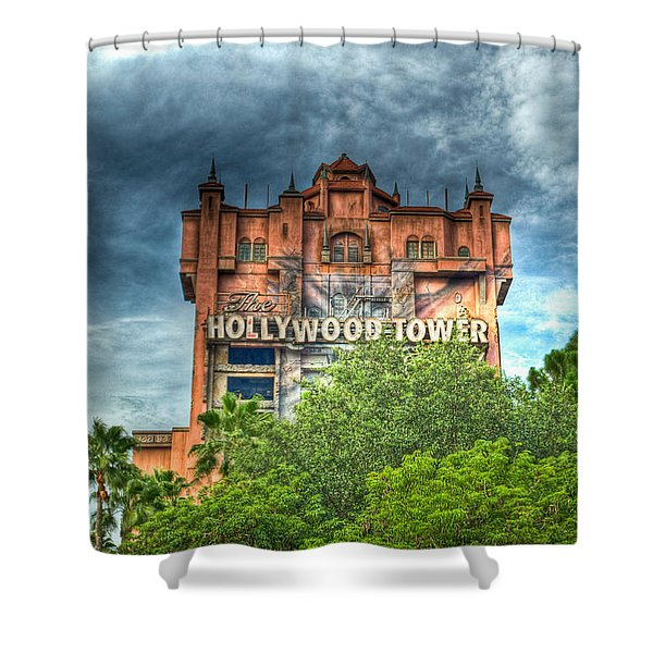 Hotel Reservations Shower Curtain