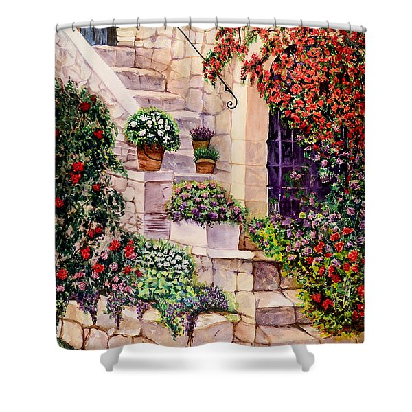 House In Oyster Bay Shower Curtain
