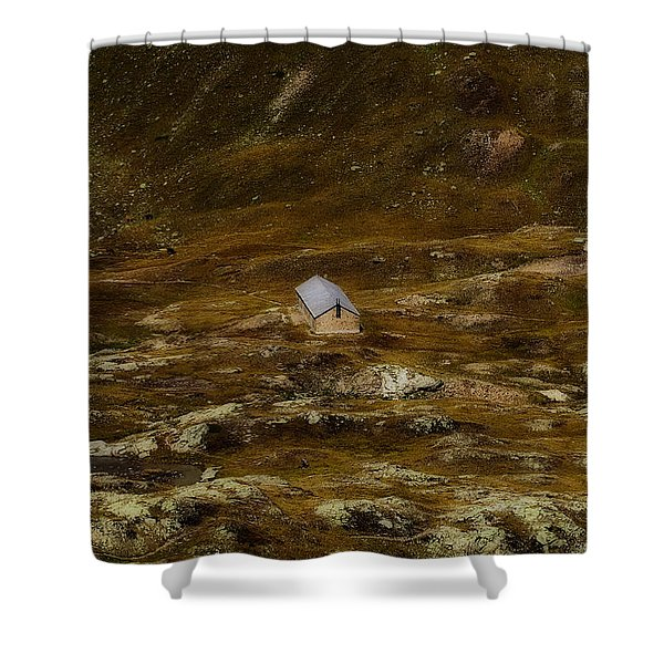 House In The Valley Shower Curtain