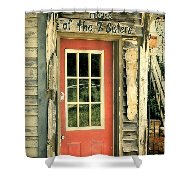 House Of The Seven Sisters Shower Curtain