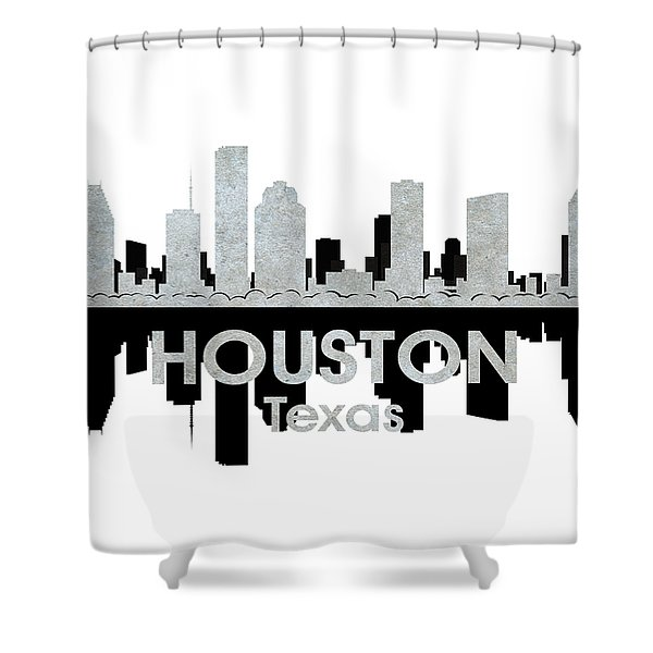 Houston Tx 4 Shower Curtain