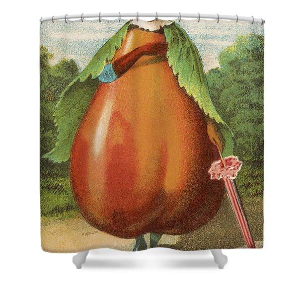 How Do I A Pear Shower Curtain