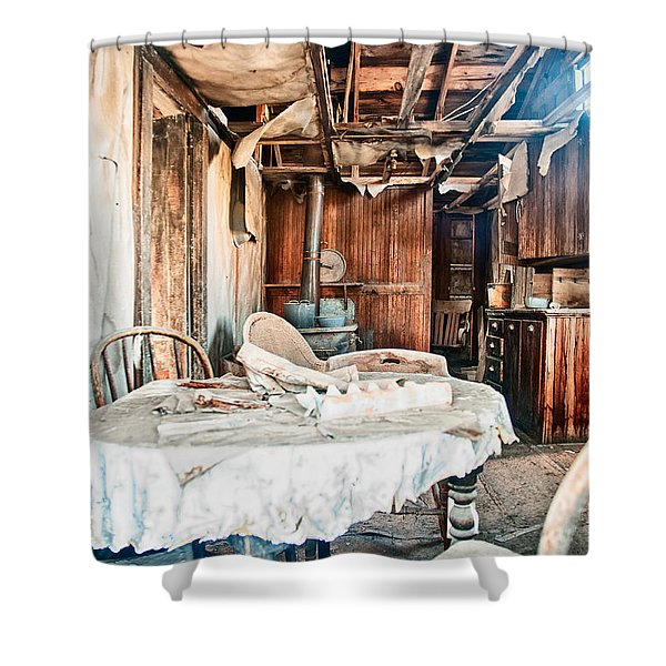 How Long Until Breakfast Shower Curtain