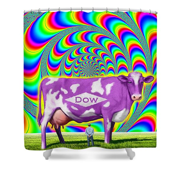How Now Dow Cow? Shower Curtain