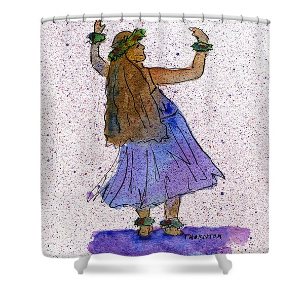 Hula Series Malia Shower Curtain