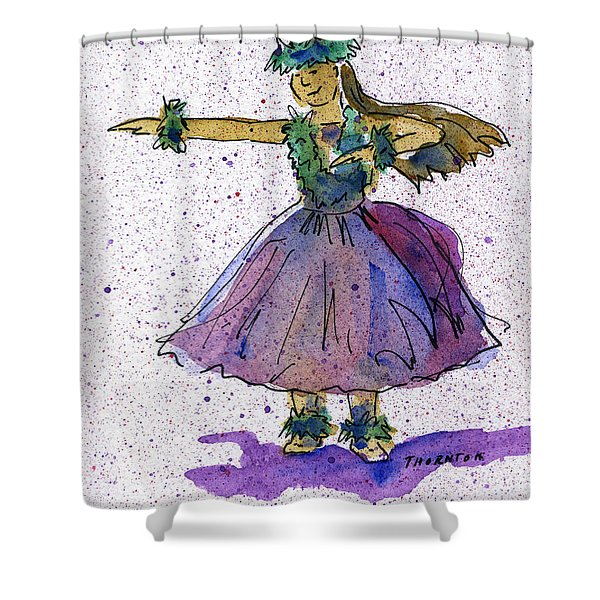 Hula Series Olina Shower Curtain