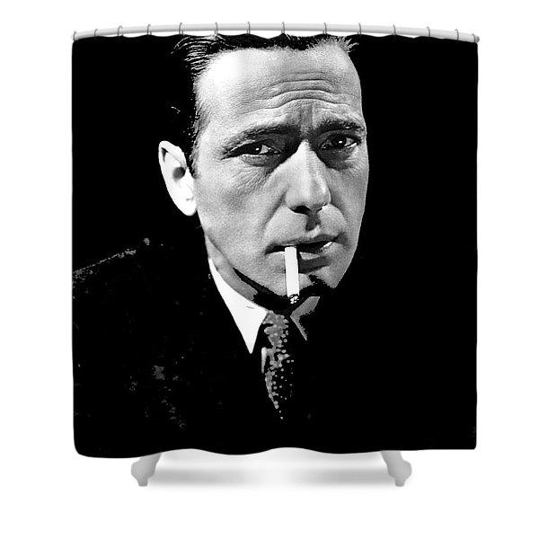 Humphrey Bogart Publicity Photo The Maltese Falcon 1941-2014 Shower Curtain