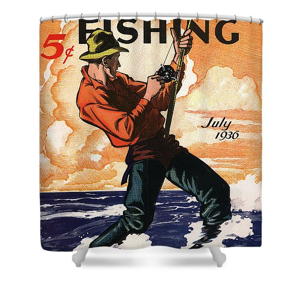 Hunting And Fishing Shower Curtain
