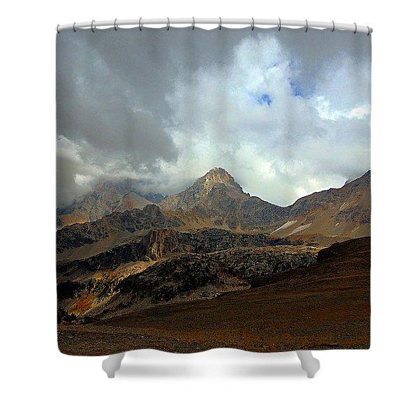 Hurricane Pass Shower Curtain