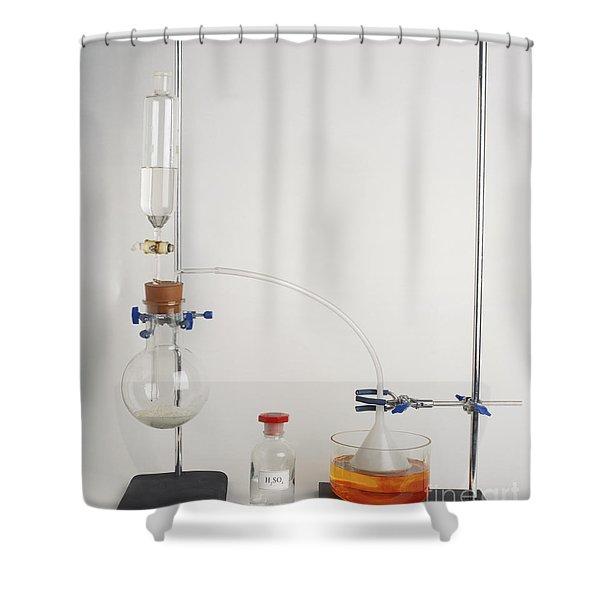 Hydrochloric Acid Preparation Shower Curtain