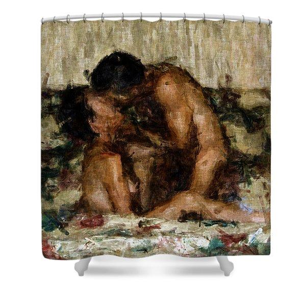 I Adore You Shower Curtain