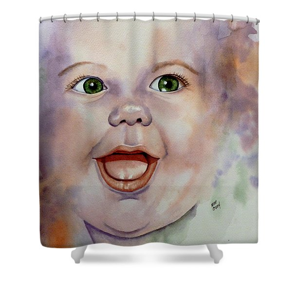 I Love You Baby Shower Curtain