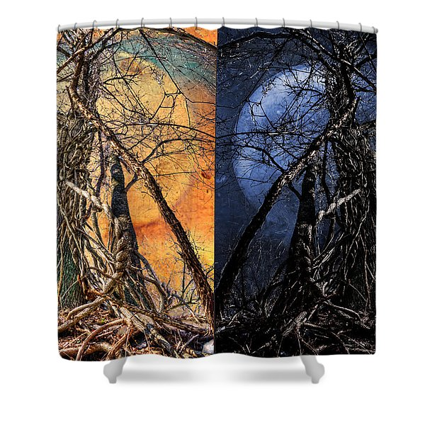 I Love You Day And Night Shower Curtain