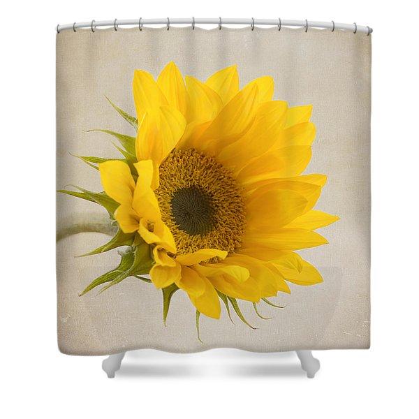 I See Sunshine Shower Curtain