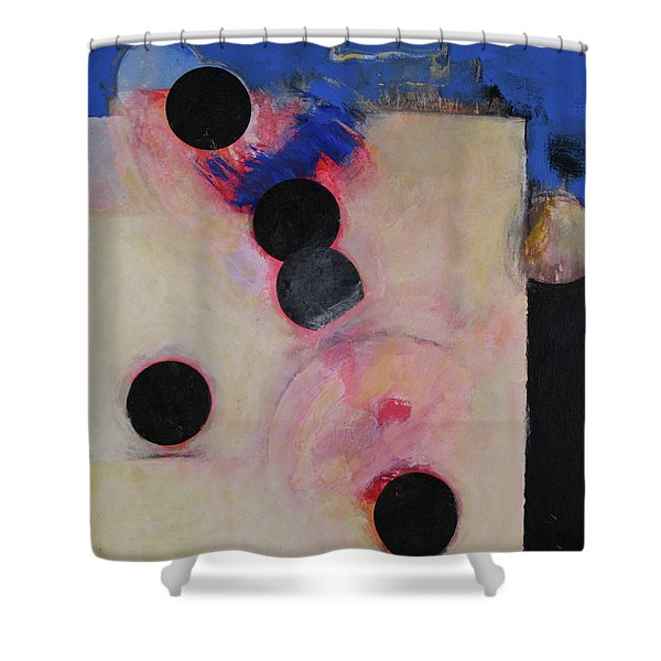 Shower Curtain featuring the painting I Smell Chocolate  by Cliff Spohn
