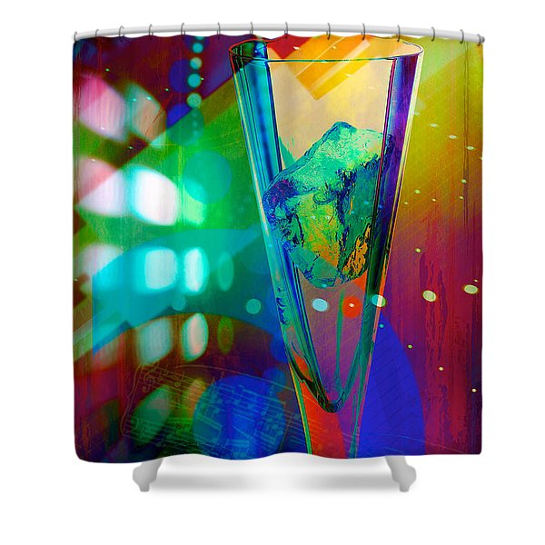 Ice-2 Shower Curtain