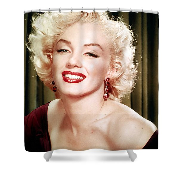 Iconic Marilyn Monroe Shower Curtain