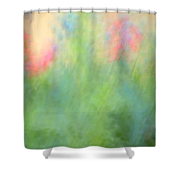 If My Front Yard Was Giverny Shower Curtain