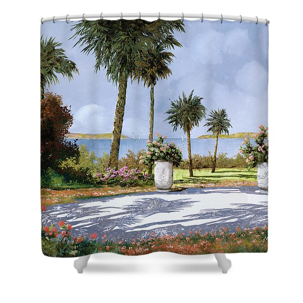 Il Giardino Delle Palme Shower Curtain