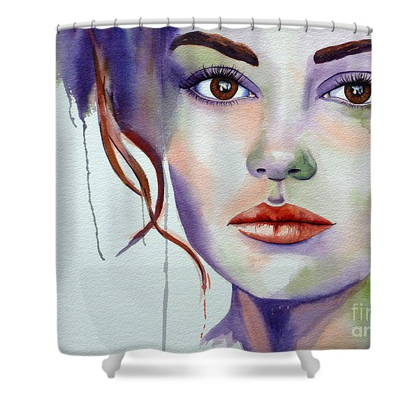 No Illusions Shower Curtain