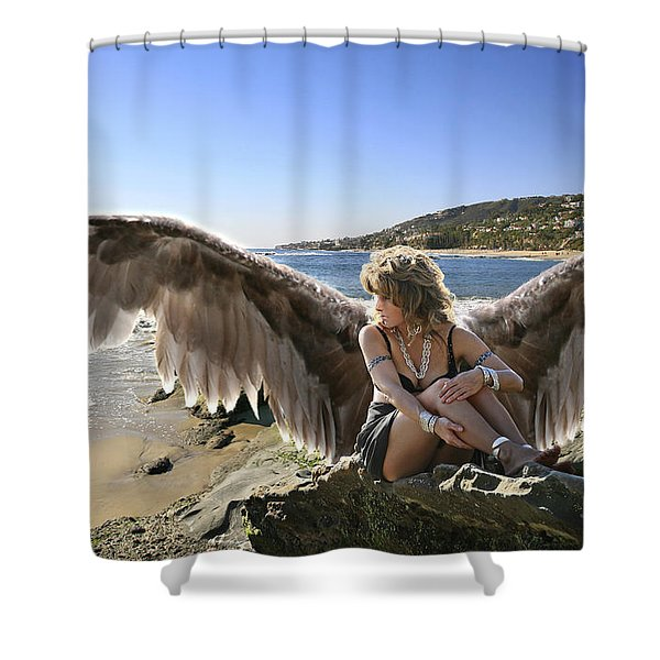 I'm A Witness To Your Life Shower Curtain