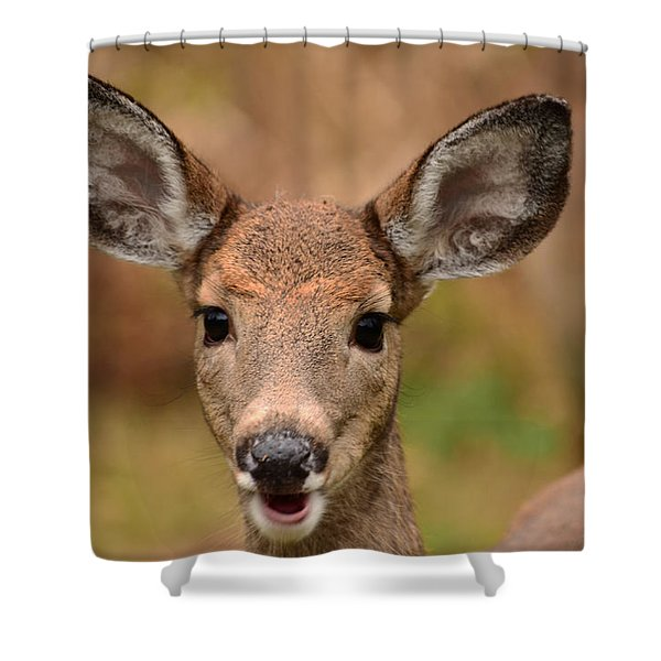 I'm Never Alone Shower Curtain