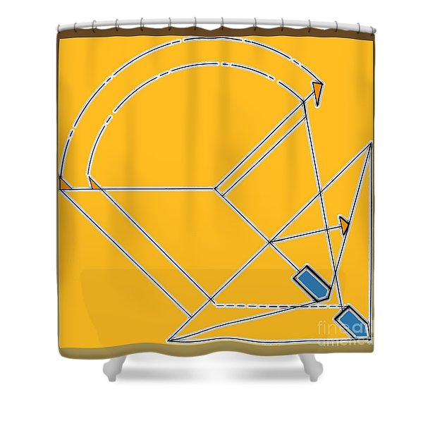 Imperfect  Shower Curtain