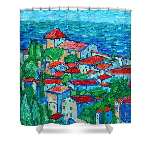 Impression From Mallorca Shower Curtain
