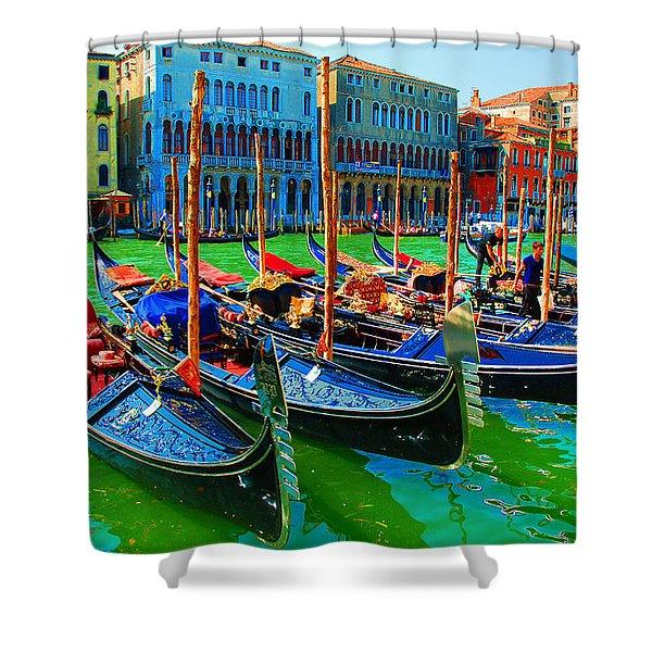 Impressionistic Photo Paint Gs 009 Shower Curtain