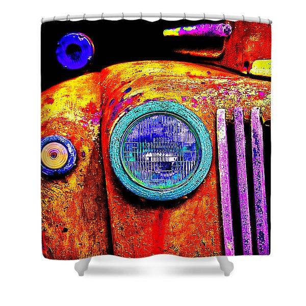 impressionistic photo paint GS 019 Shower Curtain