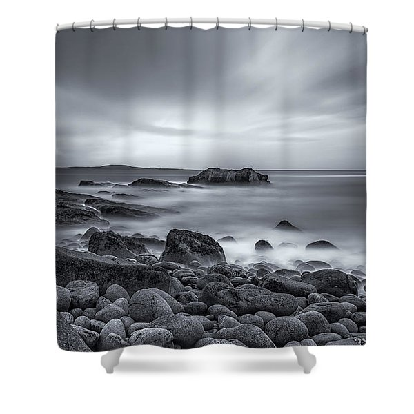 In A Tidal Wave Of Mystery Shower Curtain