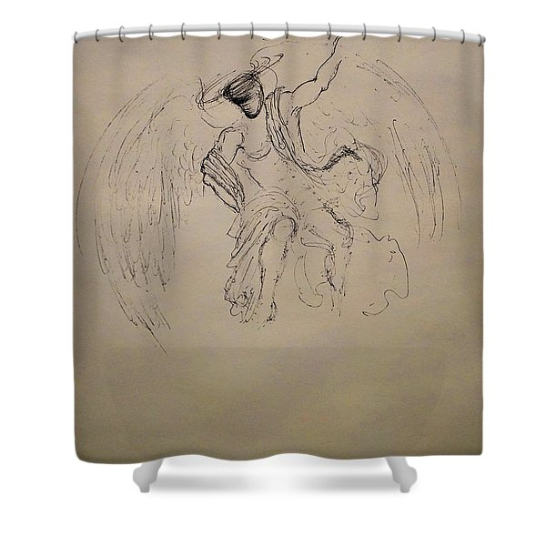 In Love You Will Be Shower Curtain