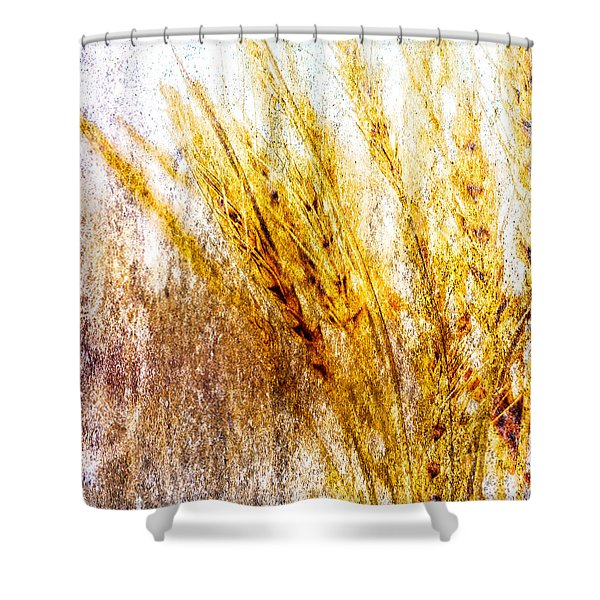 In Memory Of Wheat Shower Curtain