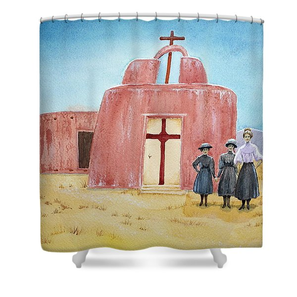In Old New Mexico II Shower Curtain